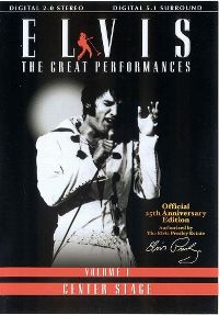 Cover Elvis Presley - Elvis - The Great Performances - Volume 1 - Center Stage [DVD]